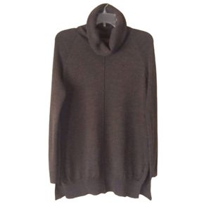 Cynthia Rowley Soft Fine Merino Wool Tunic Sweater